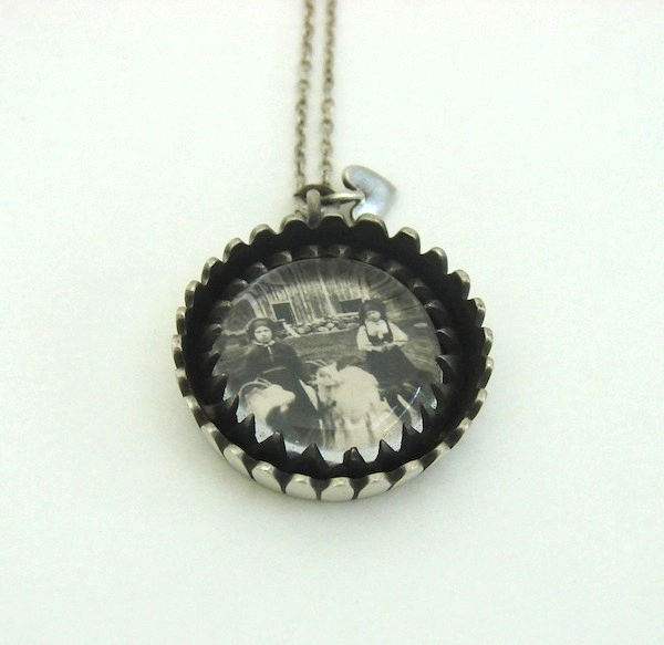 Photo necklace